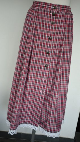 Alphorn Traditional Skirt multicolored cotton