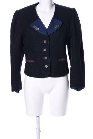 Alphorn Short Jacket black-blue casual look
