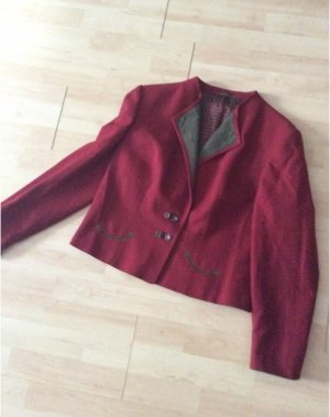 Alphorn Traditional Jacket brown red-green grey