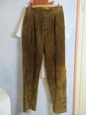 Alphorn Pantalon bavarois brun-cognac cuir