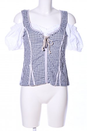 Alphorn Traditional Blouse check pattern vintage look