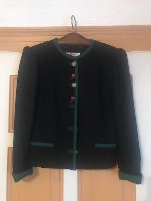 Alphorn Tradycyjna kurtka czarny