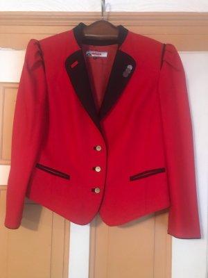 Alphorn Tradycyjna kurtka czerwony