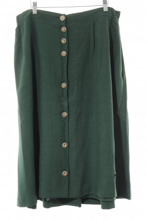 Alphorn Traditional Skirt forest green extravagant style