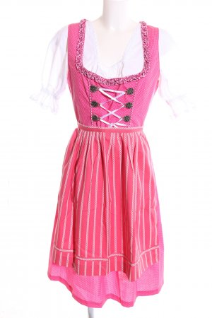 Alpin de luxe Dirndl rose style d'affaires