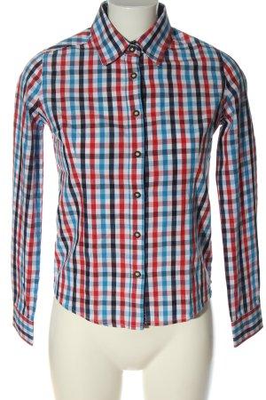 Alpin de luxe Koszula w kratę Wzór w kratkę W stylu casual