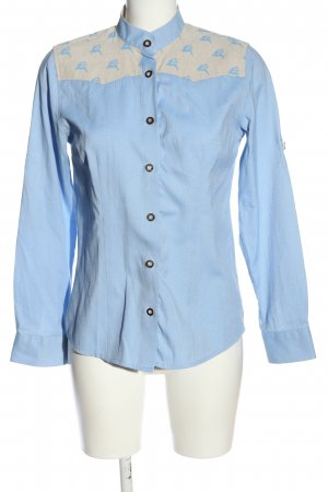 Alpin de luxe Long Sleeve Shirt blue casual look