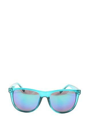 Alpina Lunettes de soleil angulaires bleu style décontracté