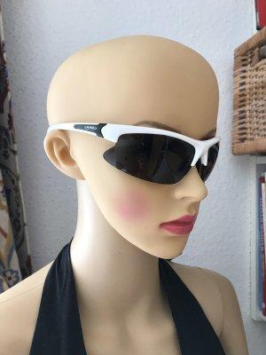 ALPINA Sport Sonnenbrille, weiß schwarz
