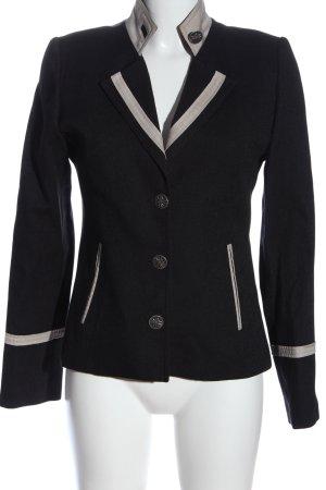 alpine Korte blazer zwart zakelijke stijl