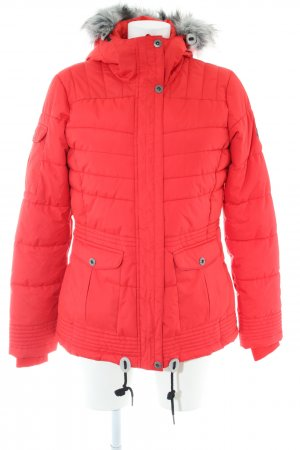 Alpine Pro Down Jacket red quilting pattern casual look