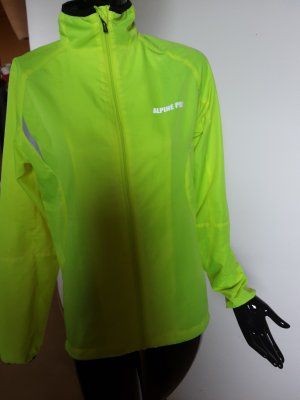 Alpine Pro Giacca sport nero-giallo neon