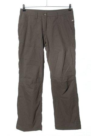 Alpine Pro Spodnie khaki khaki Wydrukowane logo W stylu casual