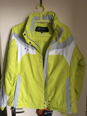 Alpine Pro Sports Jacket lime yellow polyester