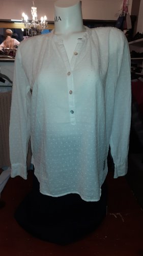 Alprausch Blusa de encaje blanco