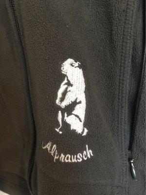 Alprausch Chaqueta de forro polar gris