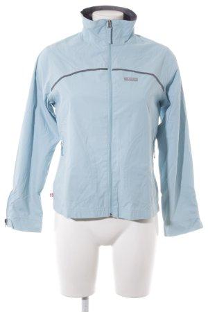 Alprausch Kurzjacke grau-hellblau sportlicher Stil