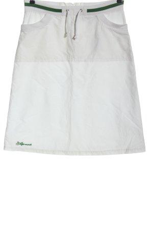 Alprausch Mini-jupe blanc style décontracté