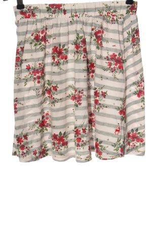 Alprausch Miniskirt flower pattern casual look