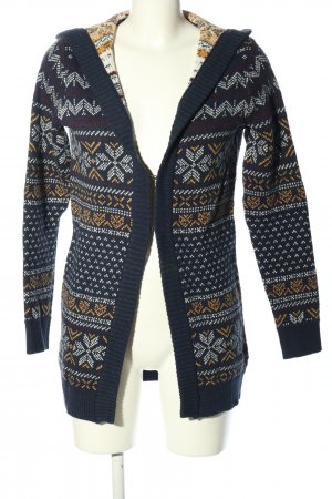 Alprausch Knitted Cardigan allover print casual look