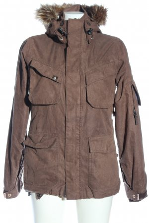 Alprausch Winter Jacket brown casual look