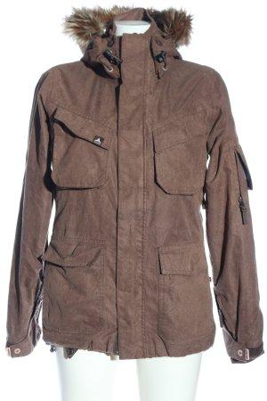 Alprausch Kurtka zimowa brązowy W stylu casual