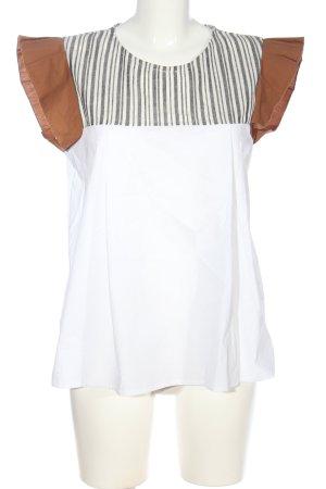 Altamira Slip-over blouse gestreept patroon casual uitstraling