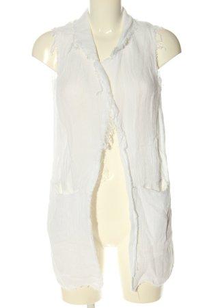 Altamira Gebreid vest wit casual uitstraling