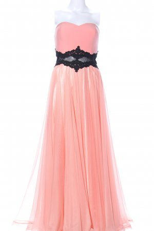 altanight Izmir Avondjurk roze-zwart elegant