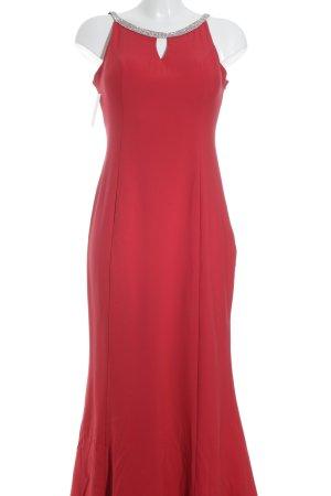 altanight Izmir Robe de soirée rouge fluo élégant