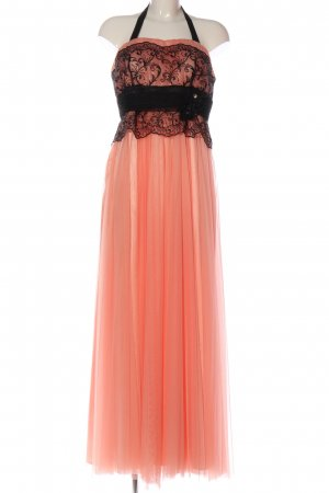 altanight Izmir Ball Dress black-pink weave pattern elegant