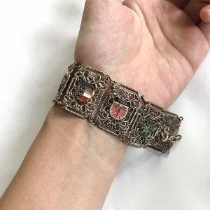 Vintage Bransoletka srebrny