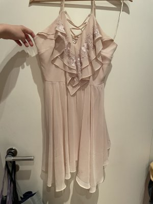 lipsy london Suknia balowa różany-stary róż