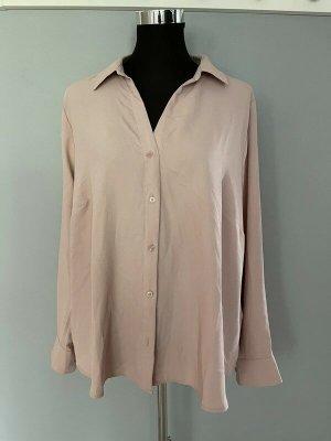 Altrosa Bluse von H&M, Gr. 48