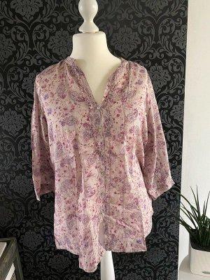 Altrosa Bluse von Promod, Gr. XL