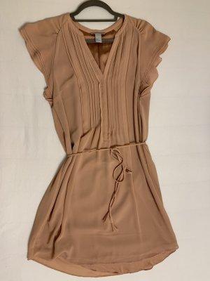Altrosa Blusenkleid