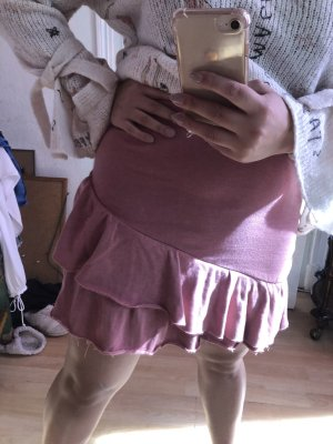 Altrosa dusty pink mini skirt Volant L LETZTE CHANCE!!!