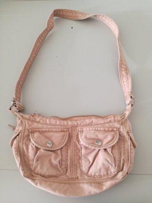 altrosa farbene Handtasche
