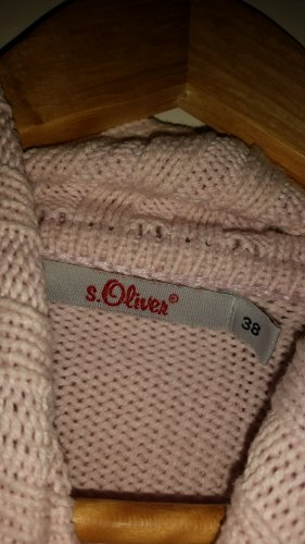 Anastacia by s.Oliver Coarse Knitted Sweater light pink