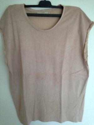 Altrosa Shirt von Zara in Gr. L