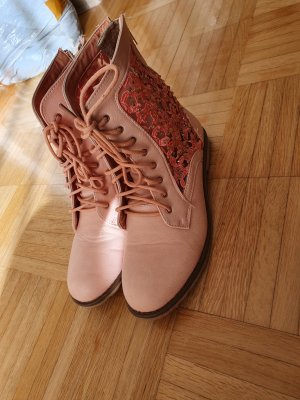 Booties rose-gold-coloured-pink