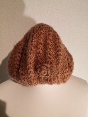 Knitted Hat dusky pink