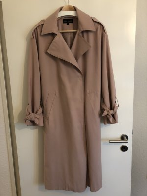 K by.....KappAhl Trench Coat dusky pink mixture fibre