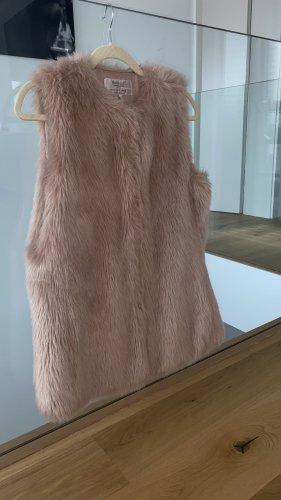 Zara Fur Jacket pink