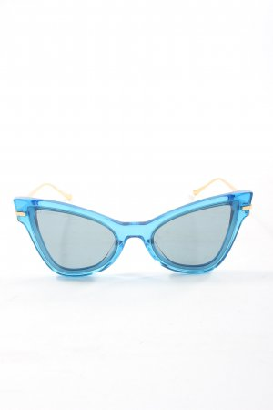 Altuzarra Butterfly Glasses blue-gold-colored casual look