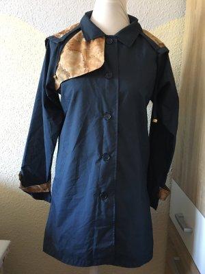 Alviero Martini Płaszcz z kapturem niebieski