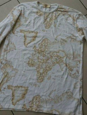 Alviero Martini Koszulka z długim rękawem w kolorze białej wełny-beżowy