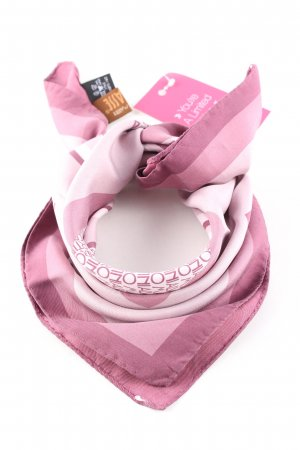 Alviero Martini Seidenschal pink Motivdruck Casual-Look