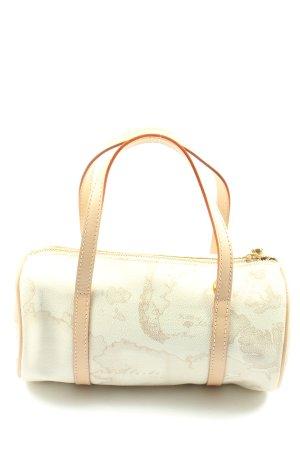 Alviero Martini Sac bandoulière blanc-crème motif abstrait style décontracté