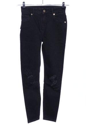 Aly John Slim Jeans schwarz Casual-Look
